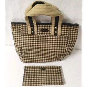 Longberger Handbag and checkbook cover